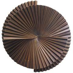 Large Dark Bronze Metal Sconce by Fabio Ltd