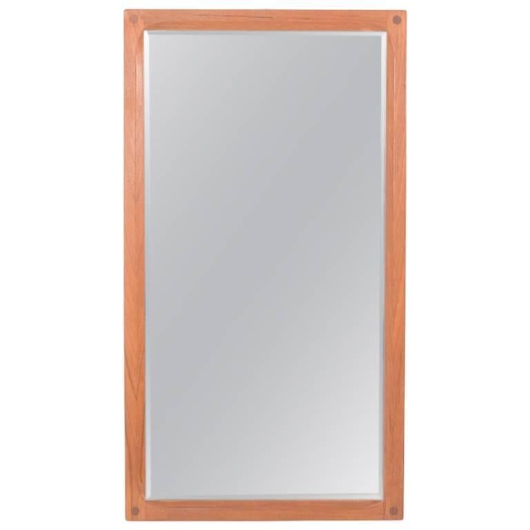 Aksel Kjersgaard Teak Wooden Mirror