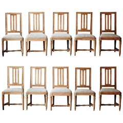 19th Century Gustavian Chairs