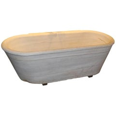 Antique Marble Bath Tub 19th Century