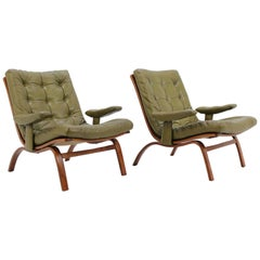 Midcentury Lounge Chair by Gote Mobler, Sweden