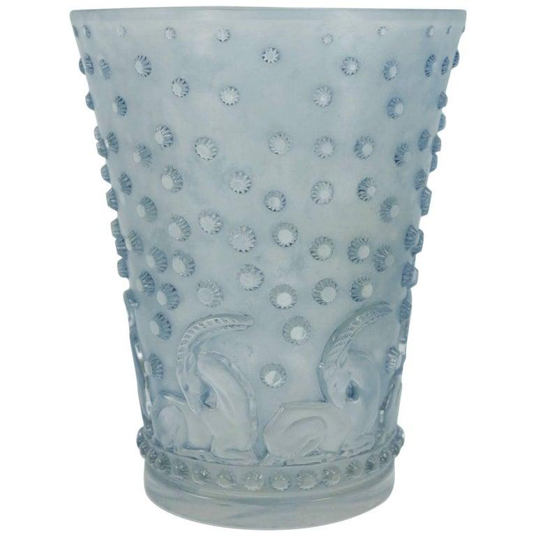Ren Lalique Vase Ajaccio For Sale At 1stdibs