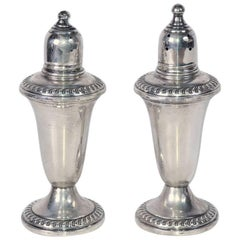 Mid-20th Century Sterling Salt and Pepper Shakers