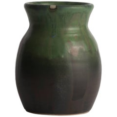 Green Vase Designed by Jens Peter Dahl Jensen