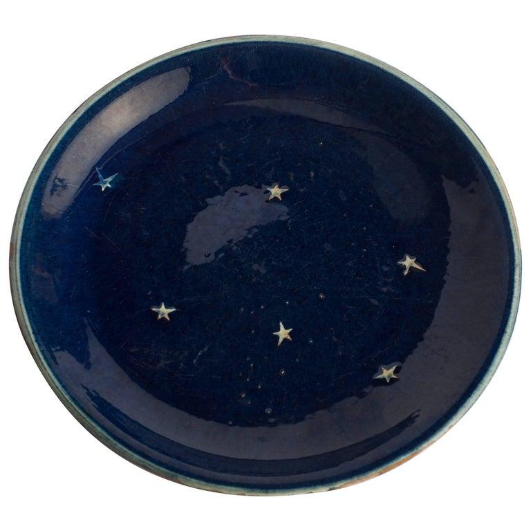 Vintage Ceramic Plate, Denmark For Sale