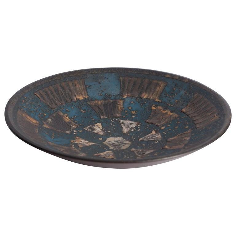 Ceramic Enamelled Plate West Germany