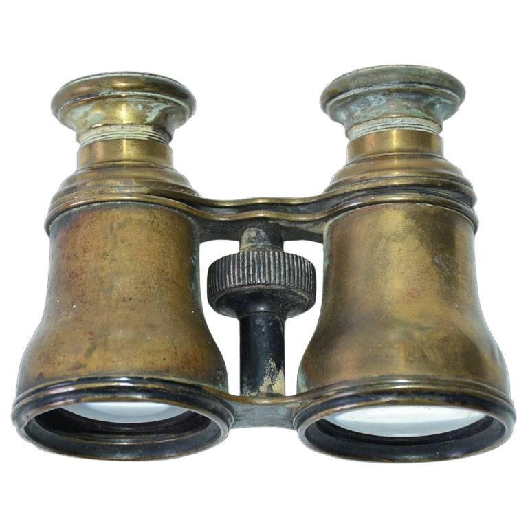 Antique French Verres Supérieurs Binoculars For Sale