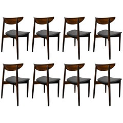Harry Ostergaard Rosewood Dining Chairs Model 58