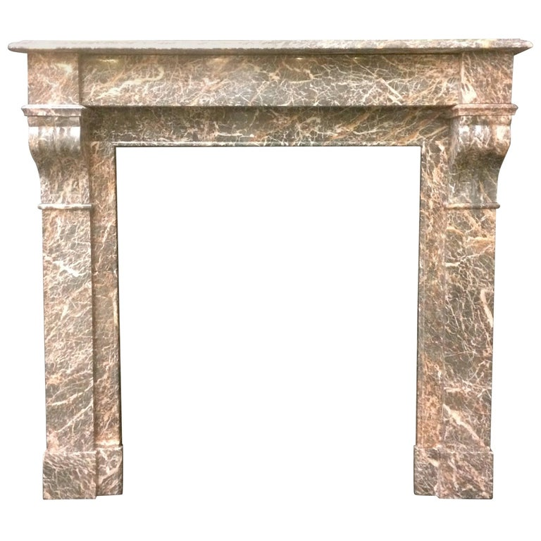 Antique Victorian French Marble Fireplace Surround For Sale At 1stdibs