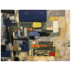 Abstract by Noted Palm Springs Artist Jeff King
