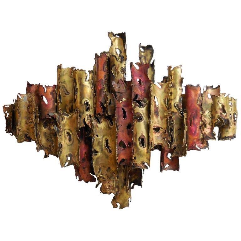 Silas Seandel Large Abstract Wall Sculpture