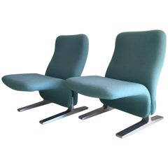 Pierre Paulin Lounge Chairs Model Concorde, for Artifort, 1960s