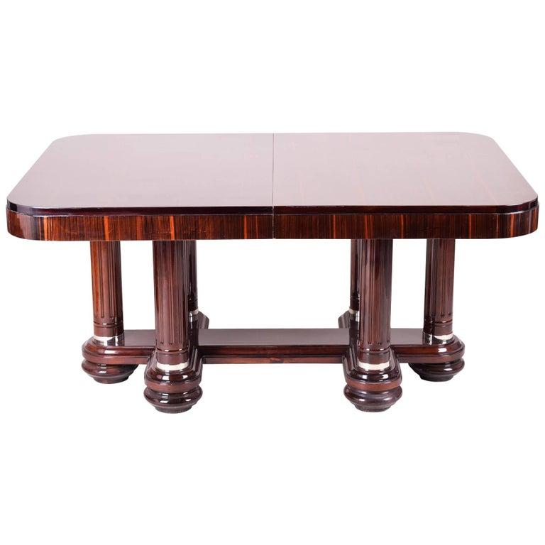 Unique art deco large table for sale at 1stdibs for Unique desks for sale