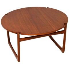 1960s Danish Teak Coffee Table by Peter Hvidt & Orla Mølgaard Nielsen