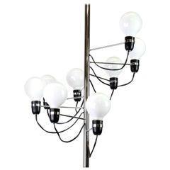 Flos Spiralling Pendant Lamp by Gino Sarfatti