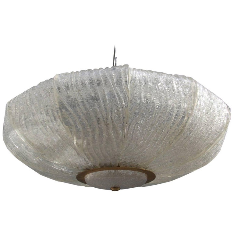 Murano Glass Ceiling Lamp Venini