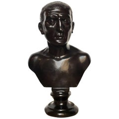 19th Century Italian Bronze Bust