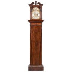 George II Mahogany Longcase Clock by Henry Harrison