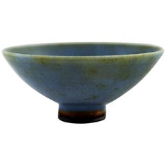 Berndt Friberg Studio Ceramic Bowl, Modern Swedish Design, Unique, Handmade