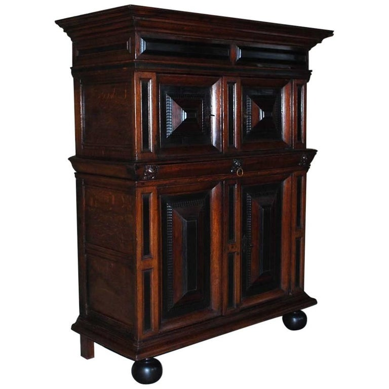 17th Century Dutch Renaissance Cabinet For Sale At 1stdibs
