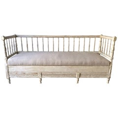 19th Century Gustavian Sofa Bed