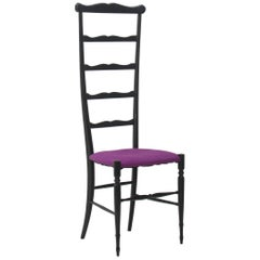 Chiavari Ladder Back Side Chair, Italy, 1940s