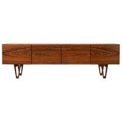 Rosewood Sideboard by Ib Kofod-Larsen for Säffle Möbelfabrik, Sweden, 1958