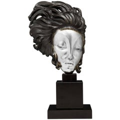 Alexander Kéléty Hungarian, 1874-1940 'Medusa Moderne' Bronze