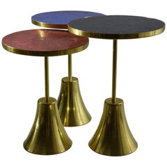 N°Z Gueridon Tables, Flow Collection by Jonathan Amar