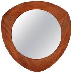 Teak Frame Mirror by Campo e Graffi for Home, 1950s