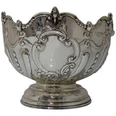 Sterling Silver Edwardian Rose Bowl Chester 1902 George Nathan & Ridley Hayes