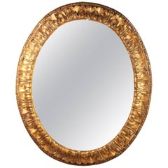 Mid-19th Century Giltwood Mirror