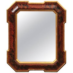 Italian Louis Philippe Faux Painted Mirror