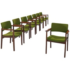 Set of Danish Rosewood Chairs for Høngstole