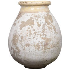 Large 19th Century French Terracotta Biot Pot or Jar
