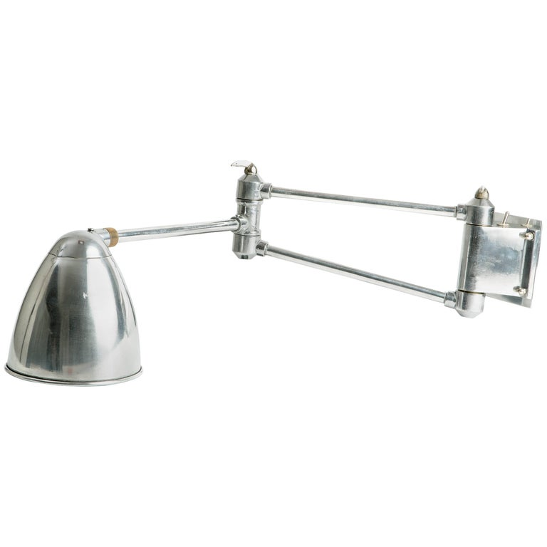 Industrial Swing Arm Sconce