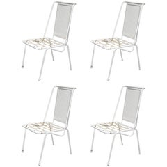 Set of Four Italian 1950s Patio Chairs