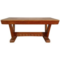 Modernist French Table or Bench