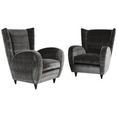 Pair of Paolo Buffa Lounge Chairs