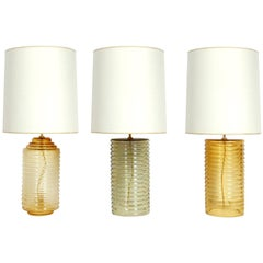 Selection of Murano Lamps for Lorin Marsh