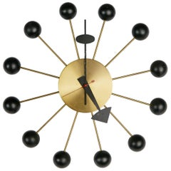 George Nelson Black Ball Clock for Howard Miller, circa 1950