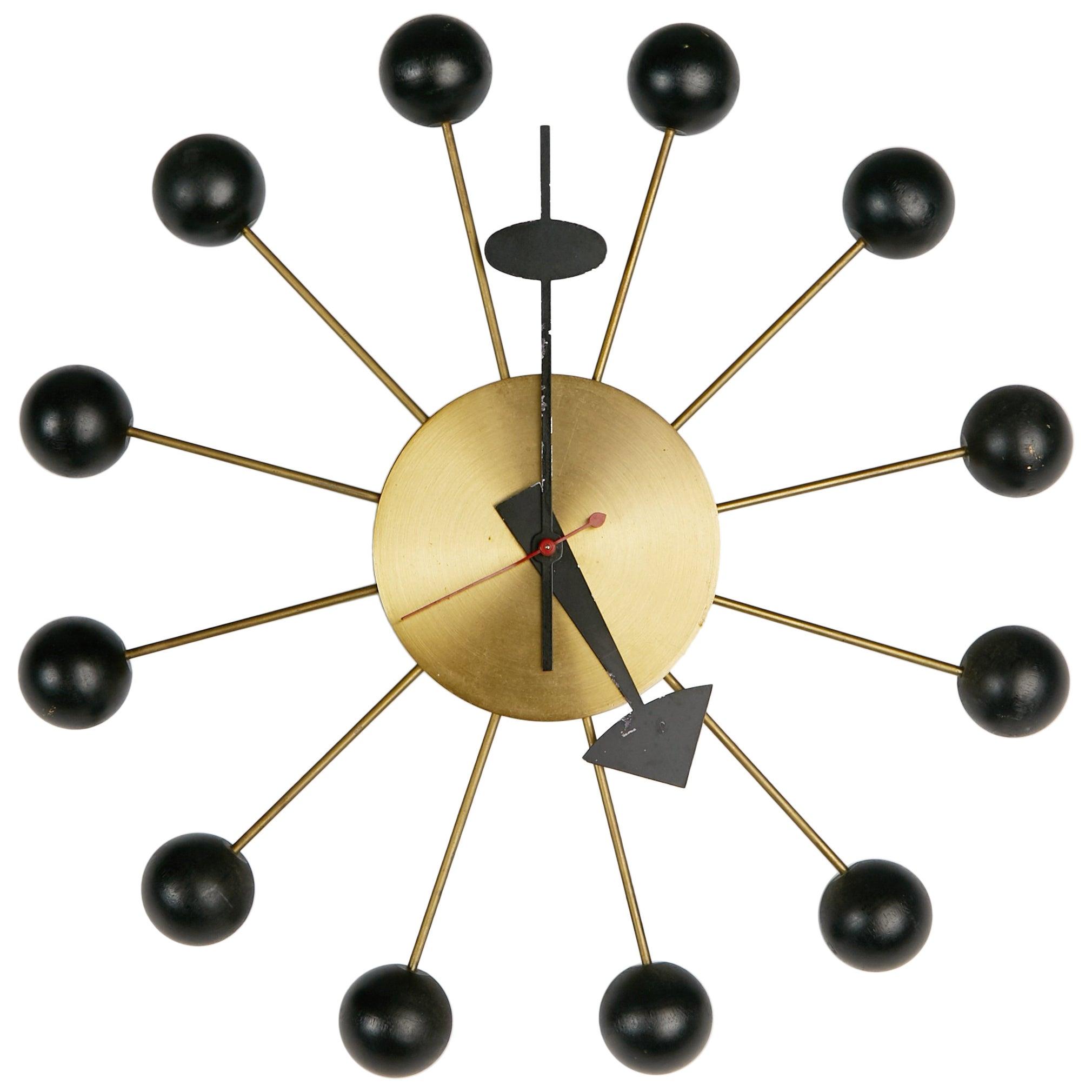 8e1535e2c65b George Nelson Black Ball Clock for Howard Miller