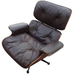 Eames Lounge Chair, Original Vitra Model 1st Generation