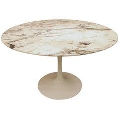 Eero Saarinen Knoll Marble Dining Table