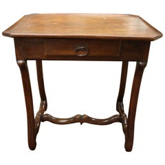 19th Century, French Louis XIV Style Side Table with Drawer