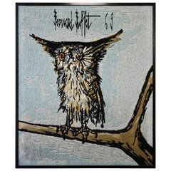 Bernard Buffet the Owl Tapestry, 1969