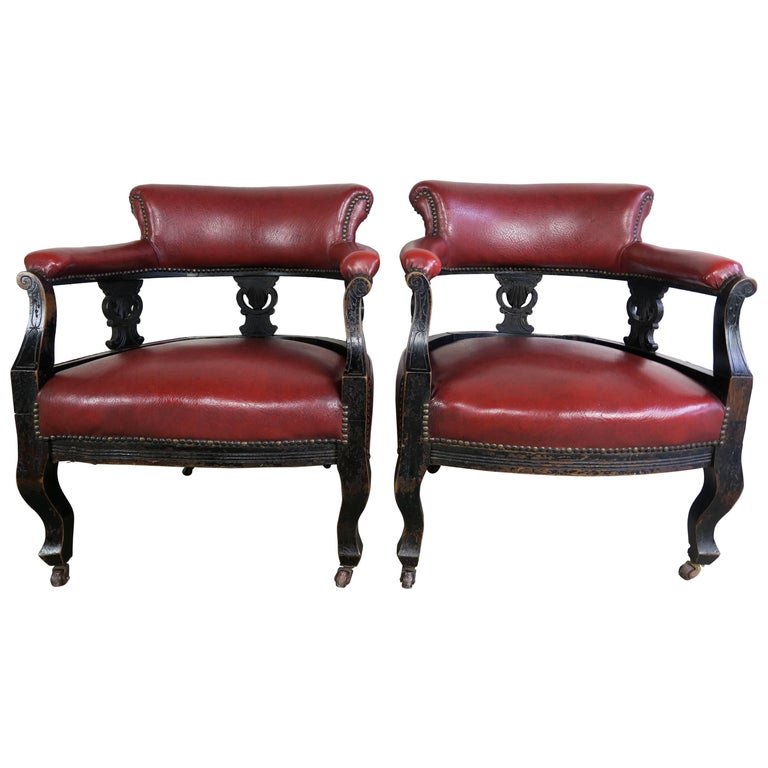 19th Century Victorian Antique Chairs, Pair For Sale - 19th Century Victorian Antique Chairs, Pair At 1stdibs