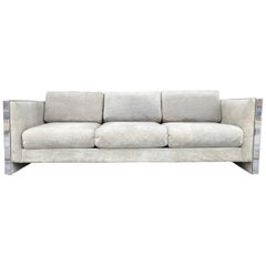 Selig Monroe Chrome Accent Sofa