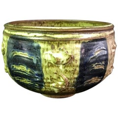 Stunning Otto and Vivika Heino Large Hand Thrown Ceramic Bowl