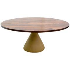 """Guanabara"" Brazilian Midcentury Table in Jacaranda Rosewood by Jorge Zalszupin"